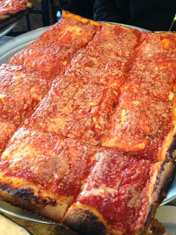 stayin 39 square l b spumoni gardens sicilian pizza tracy 39 s new york life