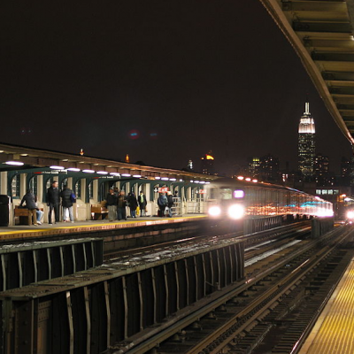 7 train in Queens