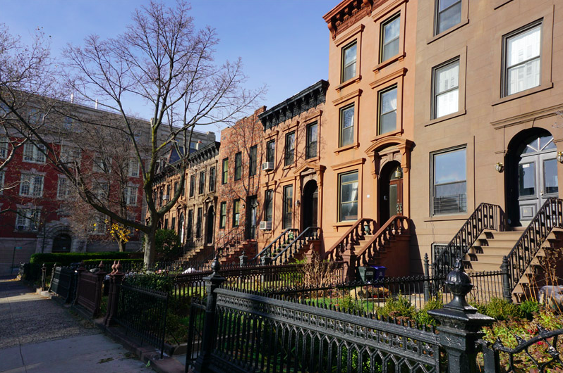 brownstones carroll gardens brooklyn
