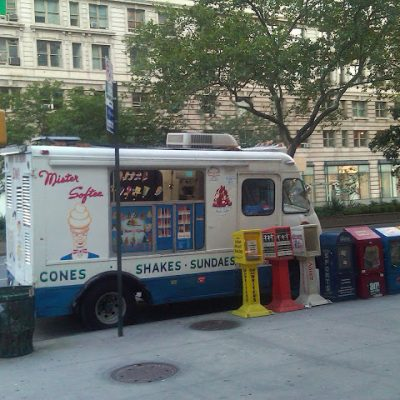 Hot and Musty with No Mr. Softee