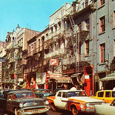 Moving to New York in 1969