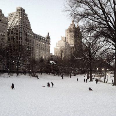 Winter Wonderland in the Big Apple
