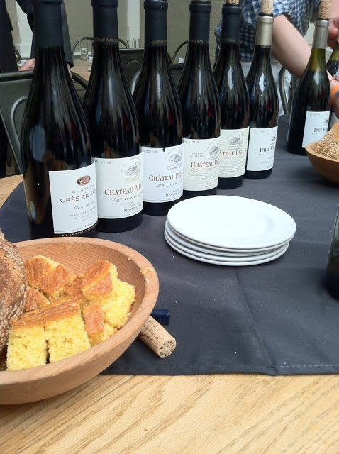 an afternoon of tasting languedoc wines