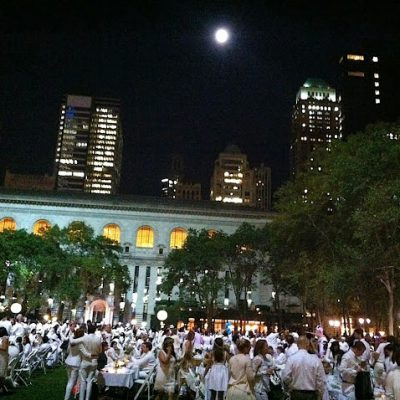 Le Dîner en Blanc New York Is About the Journey and the Destination