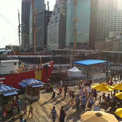 Seaport Makes a Comeback; Manhattanization; an Autograph from Lou Reed, and More