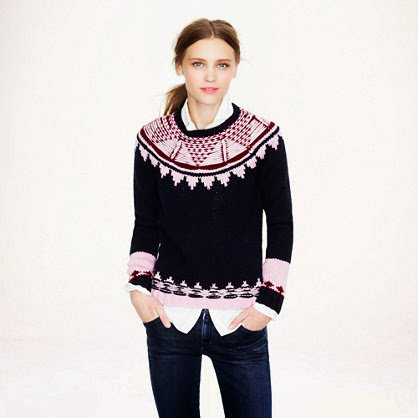 Stay Warm this Winter with Fair Isle Sweaters - Tracy's New York Life
