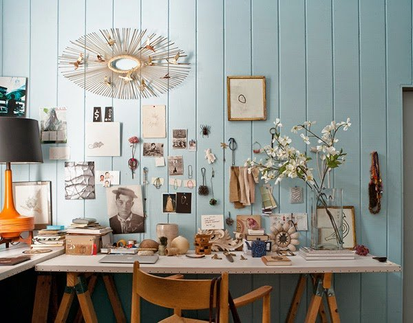 Benjamin Moore S Breath Of Fresh Air The Color Year Gives Life To Walls This Brooklyn Loft