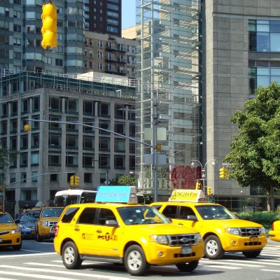 Almost All NYC Taxis Are Yellow; Things to Love About New York in 1976; Hidden Farms and Pools, and More