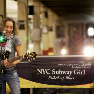 NYC Subway Girl Cathy Grier Talks Busking,  Poodles, and Her Love for the City