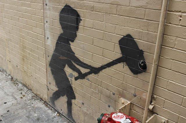 bansky graffiti artist