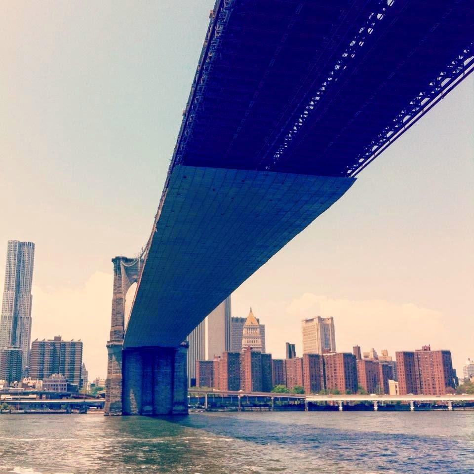 Brooklyn Bridge, sailing, NYC