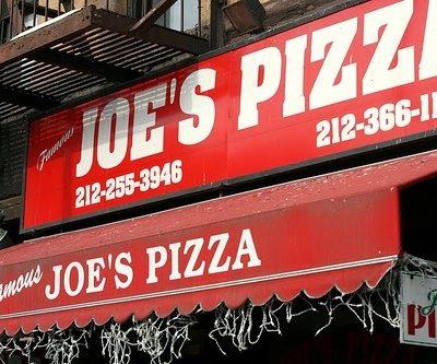 Joe's Pizza Still Turns Out Legendary New York Slices