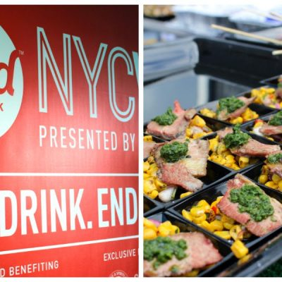 Tailgating with Jets + Chefs at NYCWFF