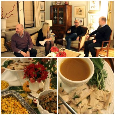 A Boston Market 'Friendsgiving' for 8 in My NYC Apartment