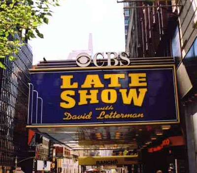 Letterman Late Night in the Afternoon