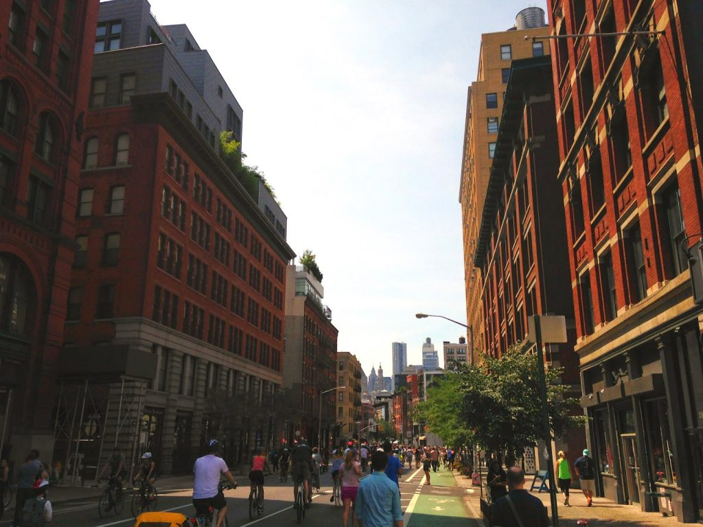 What I would miss about New York – walking everywhere.