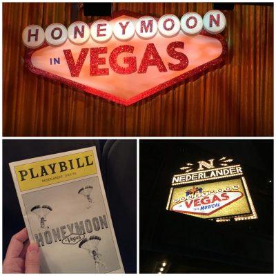 Honeymoon in Vegas Dazzles on Broadway