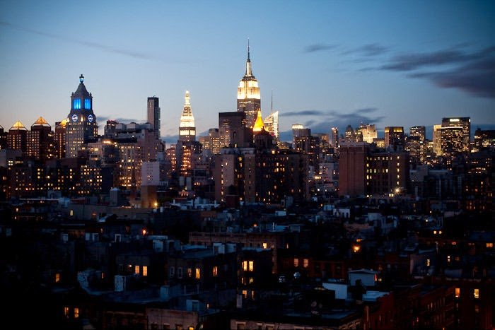 What I would miss about New York – the skyline.
