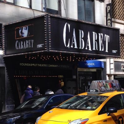 My Afternoon on Broadway: Cabaret, Cosmopolitans, and a Surprise Ending