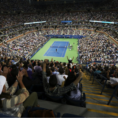 Reason #99 Why You Shouldn't Miss the US Open in Flushing Queens: THE SCENE