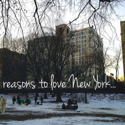 Reasons to Love New York + 3 Perfect Meals + A Magical Transformation + More Linkage