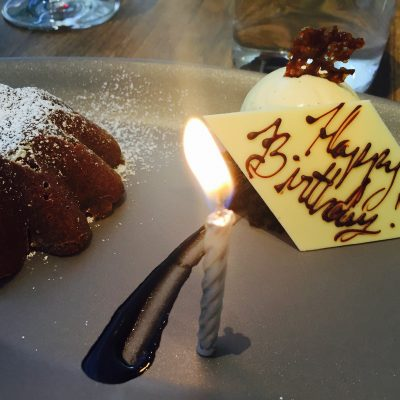 My Birthday Lunch at Nougatine