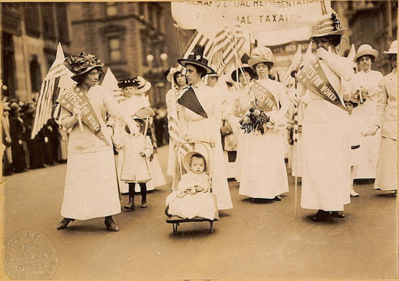 Women's suffrage parade NYC
