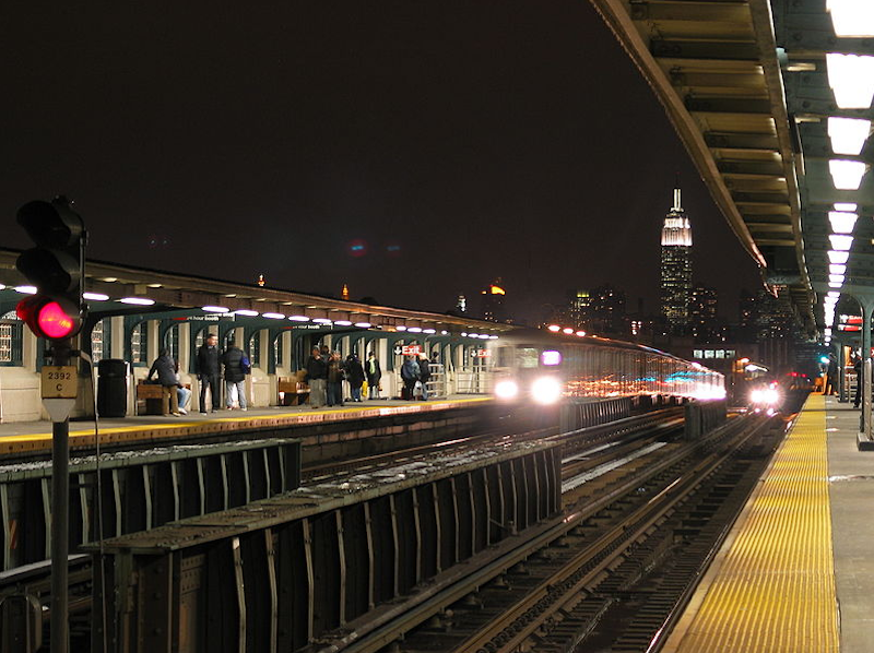 46th St - Bliss St on the 7 train in Queens
