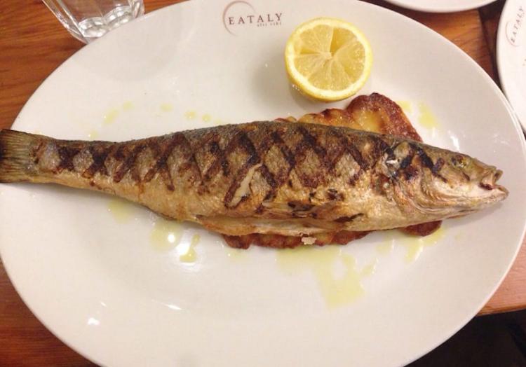 branzino at il pesce