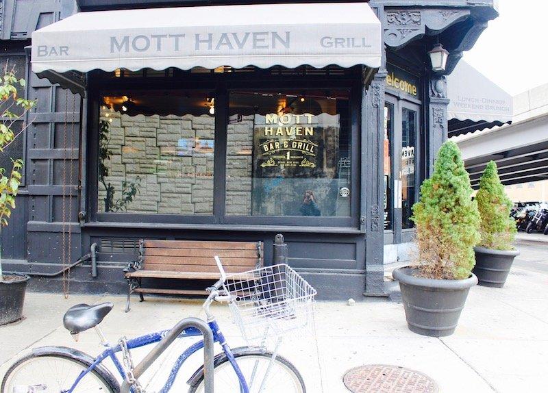 Mott Haven bar