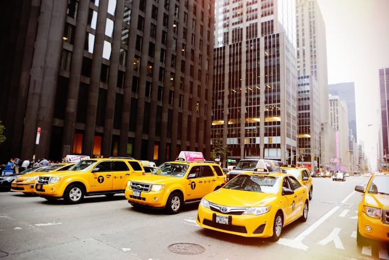 Become a pro at taking cabs in New York.