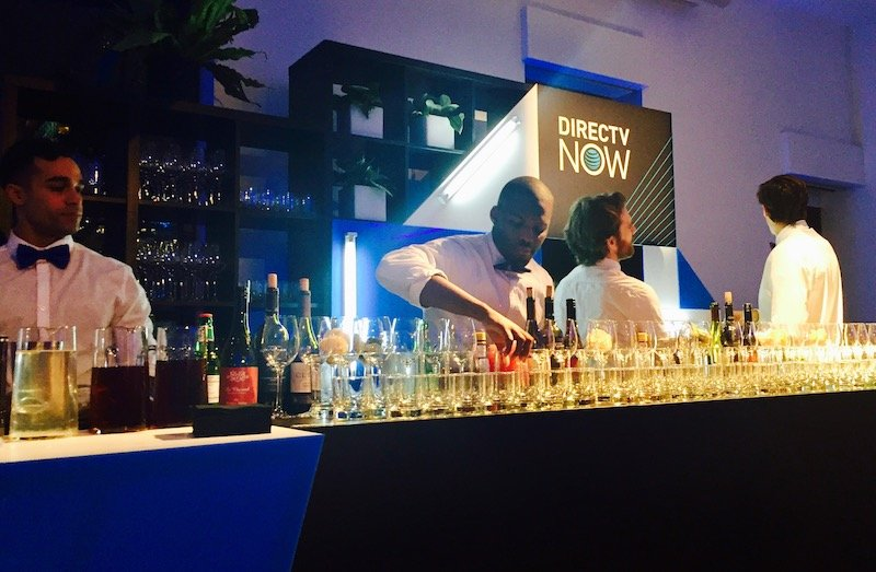 DIRECTV party bar