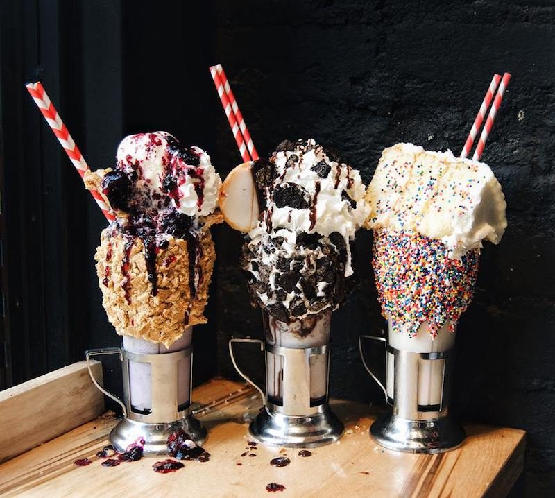Food Network Milkshake