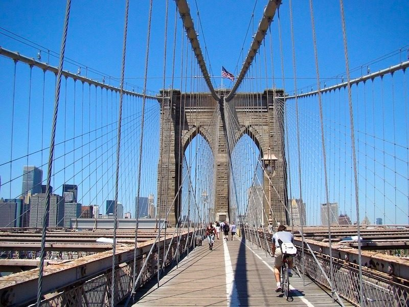 A Guide To Walking Across The Brooklyn Bridge Tracy S New York Life