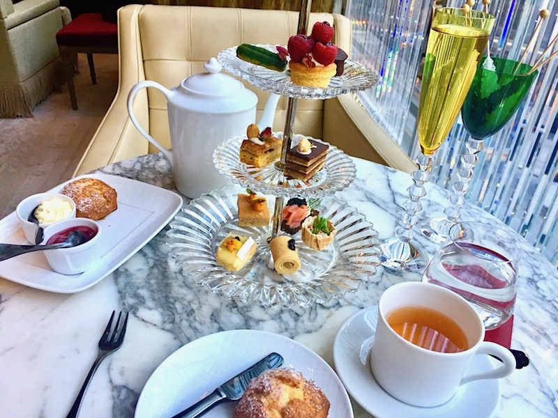 Baccarat Hotel offers afternoon tea in NYC.