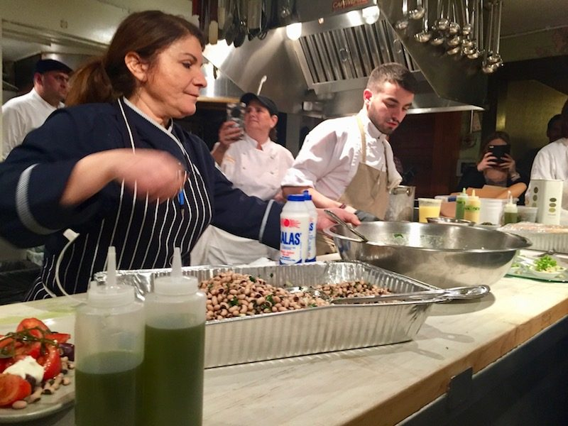 aegean secrets at the james beard house