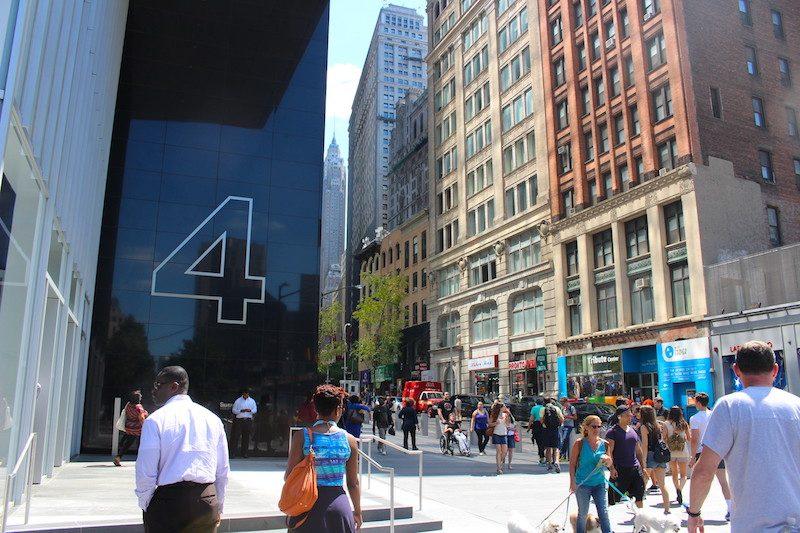 financial district shopping