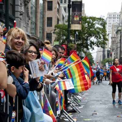 In New York City, It's All About Pride