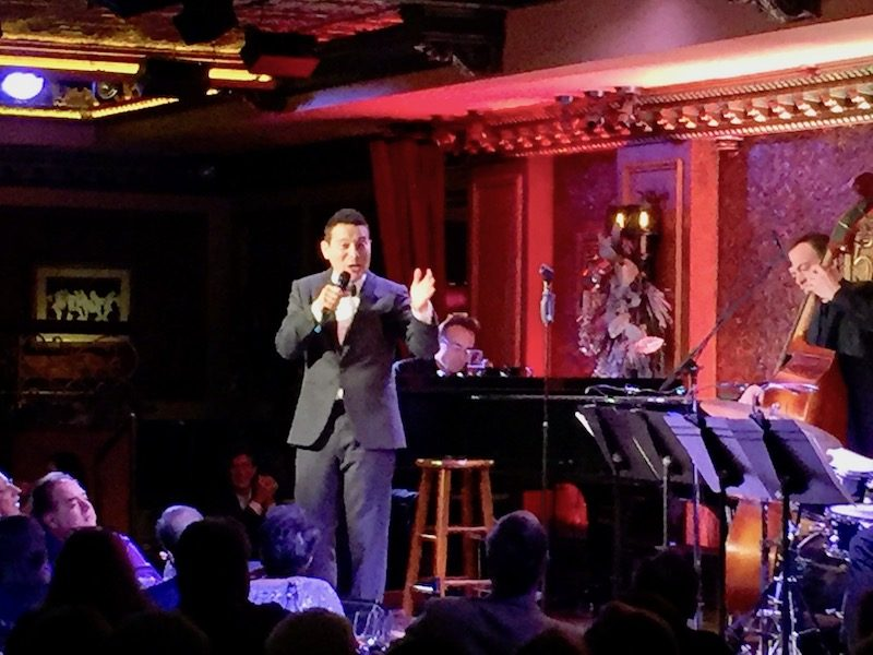 Try Feinstein's/54 Below for dinner and a show in NYC,